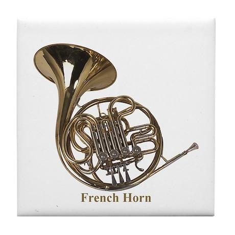 French Horn Tile Coaster