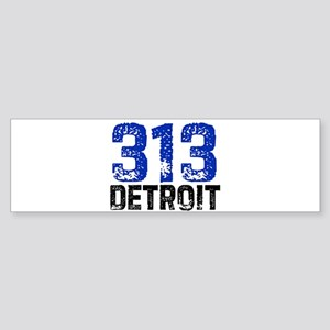 313 Bumper Sticker