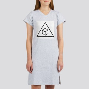 Delta Cubes Women's Nightshirt