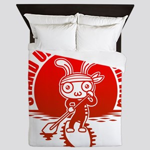 Stand up paddle surfing Queen Duvet
