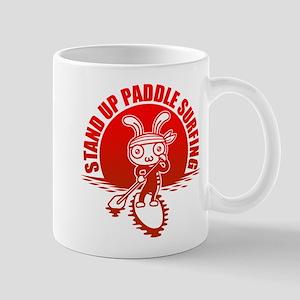 Stand up paddle surfing Mug