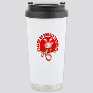 Stand up paddle surfing Stainless Steel Travel Mug