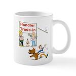 Agility Handler Cartoon Mug