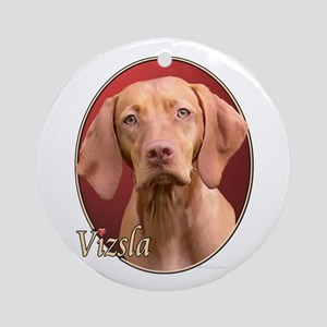 Vizsla (Red) Ornament (Round)