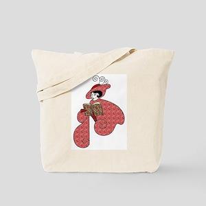 Art Nouveau Reader Tote Bag