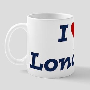 I HEART LONDON Mug