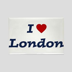 I HEART LONDON Rectangle Magnet
