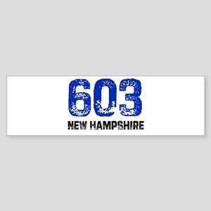 603 Bumper Sticker