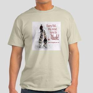 Mush! Ash Grey T-Shirt