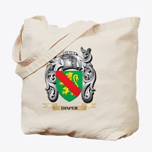 Diaper Coat of Arms - Family Crest Tote Bag