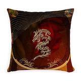 Chinese Burlap Pillows