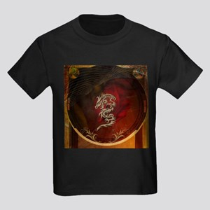 Awesome dragon, tribal design T-Shirt