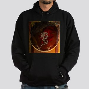 Awesome dragon, tribal design Sweatshirt