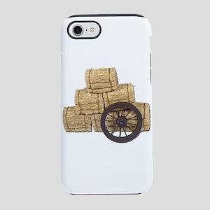 StagecoachWheelBalesHay112611. iPhone 7 Tough Case