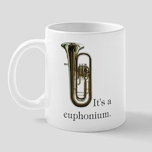 It's a Euphonium Mug with Photo