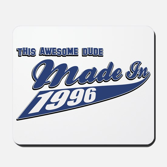 Made in 1996 Mousepad