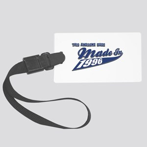 Made in 1996 Large Luggage Tag