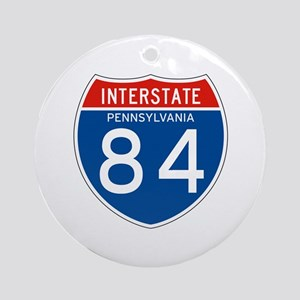 Interstate 84 - PA Ornament (Round)