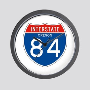 Interstate 84 - OR Wall Clock