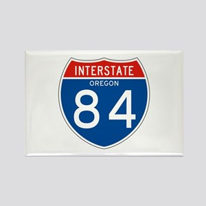 Interstate 84 - OR Rectangle Magnet