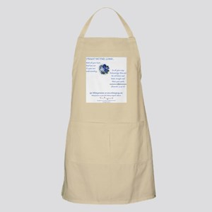 Trust In The Lord1 BBQ Apron