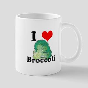 I Heart (Love) Broccoli Mug
