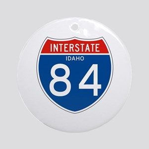 Interstate 84 - ID Ornament (Round)