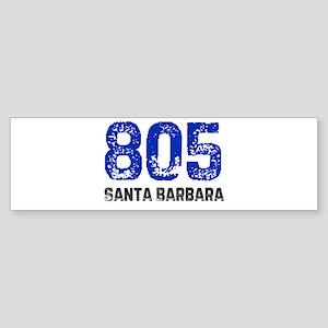 805 Bumper Sticker