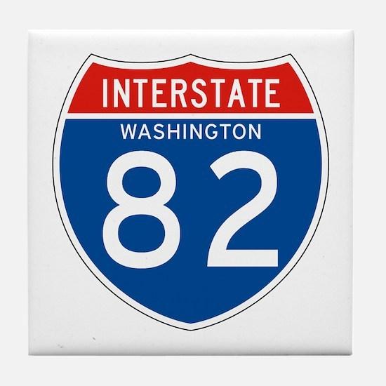 Interstate 82 - WA Tile Coaster