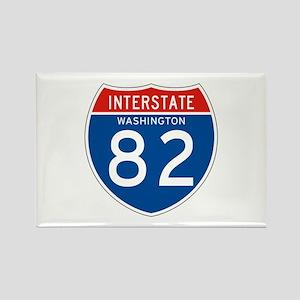 Interstate 82 - WA Rectangle Magnet