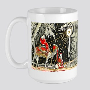 3 Wise Men Large Mug