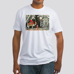 3 Wise Men Fitted T-Shirt