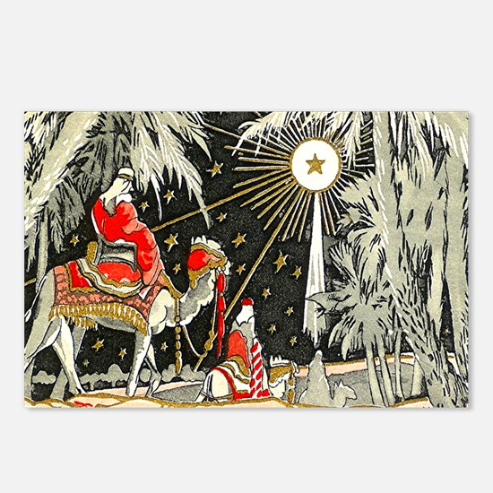 3 Wise Men Postcards (Package of 8)