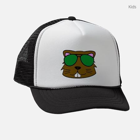 Eager Beaver Kids Trucker Hat