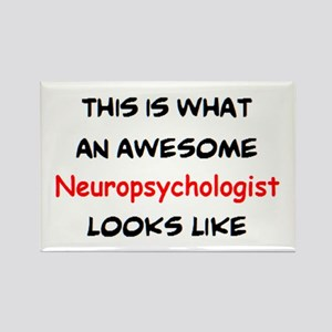 awesome neuropsychologist Rectangle Magnet