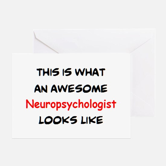 awesome neuropsychologist Greeting Card