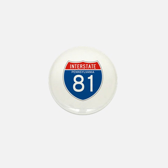 Interstate 81 - PA Mini Button