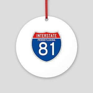Interstate 81 - PA Ornament (Round)
