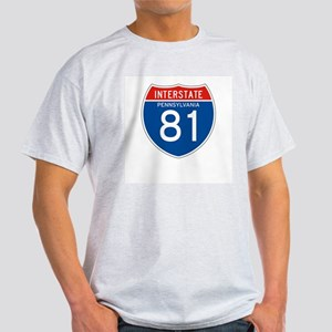 Interstate 81 - PA Ash Grey T-Shirt