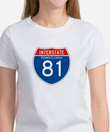 Interstate 81 - PA Women's T-Shirt