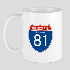Interstate 81 - NY Mug