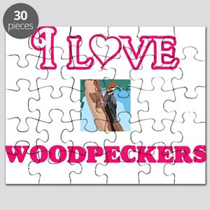 I Love Woodpeckers Puzzle