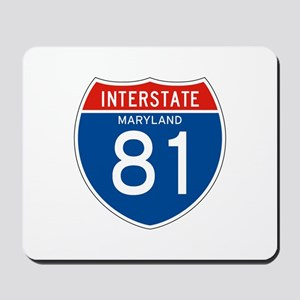 Interstate 81 - MD Mousepad