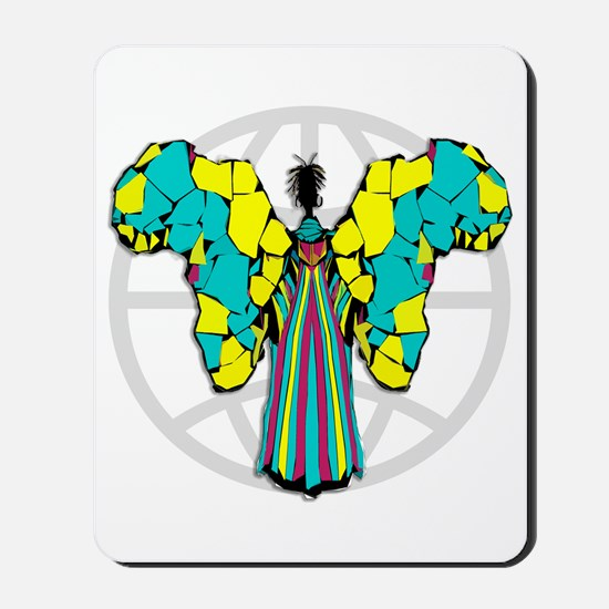 African Butterfly Mousepad