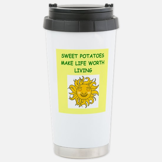 SWEET potatoes Travel Mug