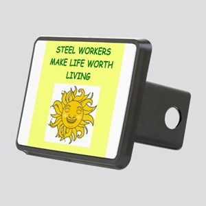 steel worker Hitch Cover