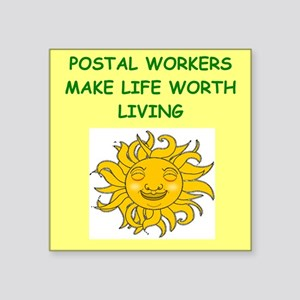 postal workers Sticker
