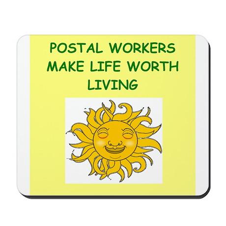 postal workers Mousepad