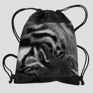 Tiger Eye Drawstring Bag