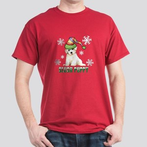 Holiday Bichon Dark T-Shirt